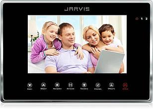 Відео Домофон (дисплей 7 дюймів) Jarvis JS-7MB чорний.