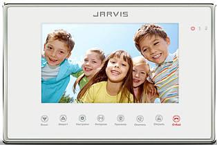 Відео Домофон (дисплей 7 дюймів) Jarvis JS-7MW білий.