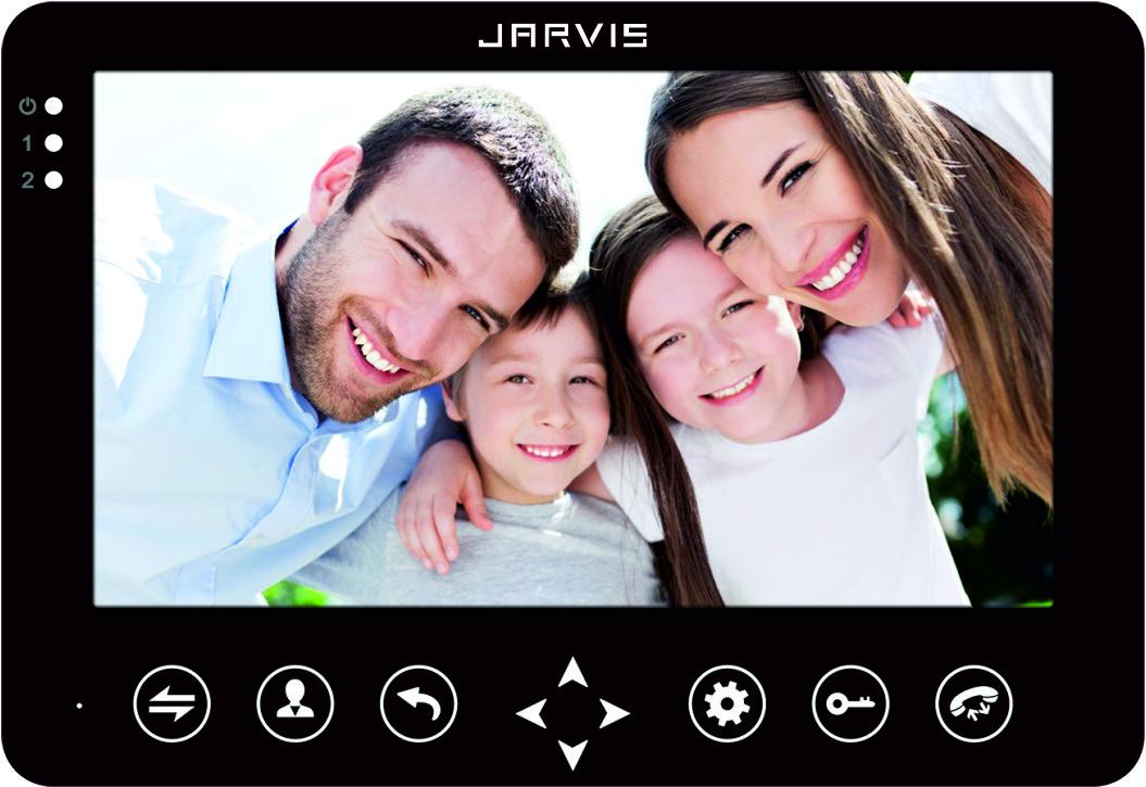 Видео Домофон Jarvis JS-72MB черный
