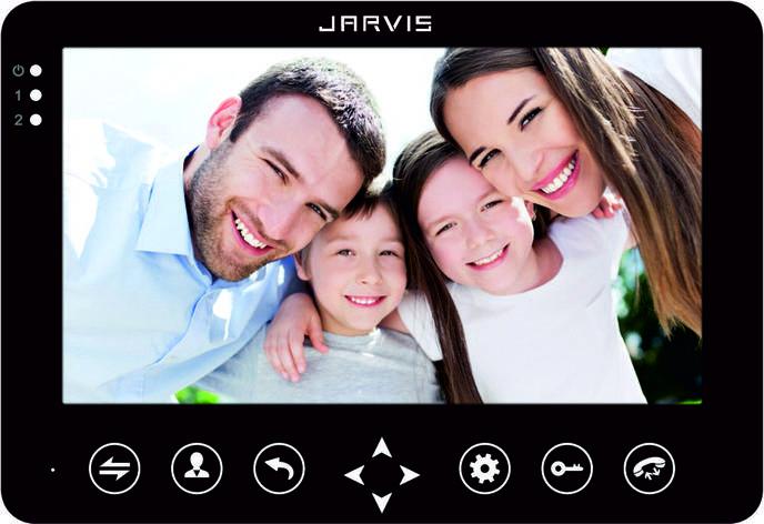 Видео Домофон Jarvis JS-72MB черный, фото 2