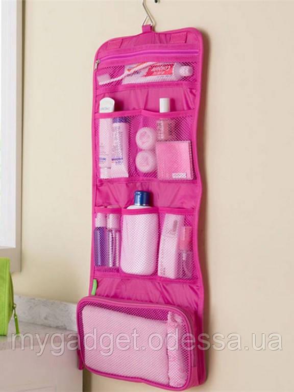 Косметичка-органайзер в ванную Blonder Home (Розовый)