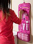 Косметичка-органайзер в ванную Blonder Home (Розовый), фото 5