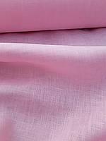"""Льняная сорочечная ткань """"Розовое облако"""", фото 1"""