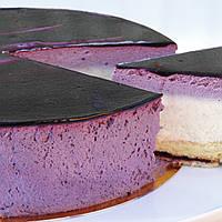 Торт Чернично-мятный мусс