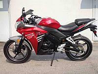Мотоцикл FORTE FTR300 (красный), фото 1