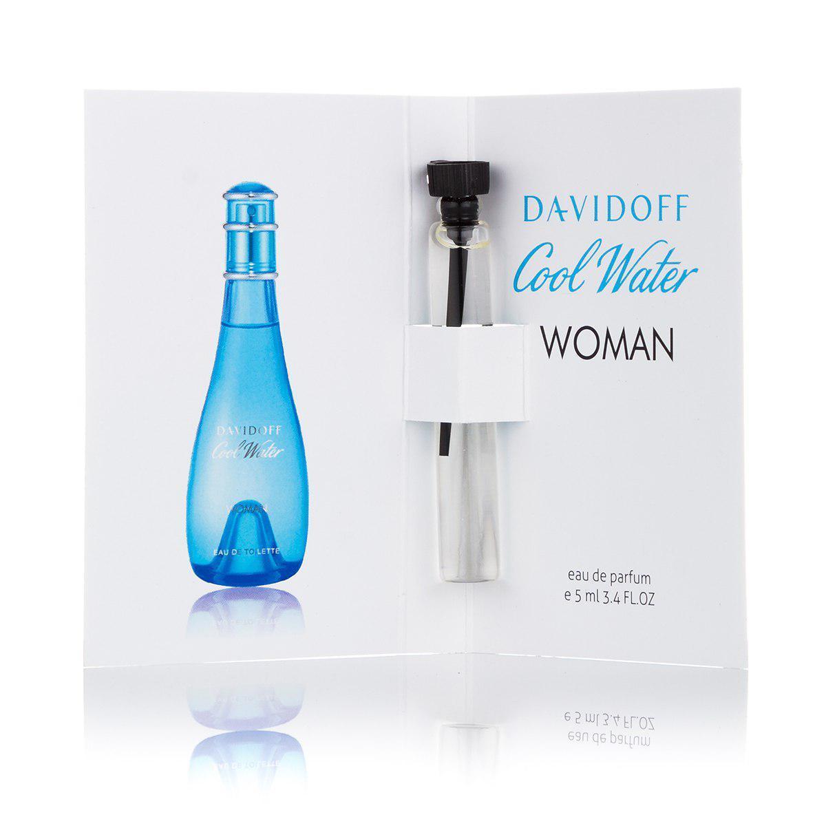 Женская туалетная вода (пробник) Davidoff Cool Water woman - 5 мл