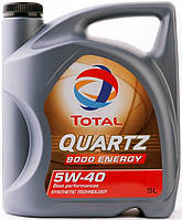 Масло моторное TOTAL QUARTZ 9000 Energy 5w40  5л/4.41кг SN/CF A3/B4