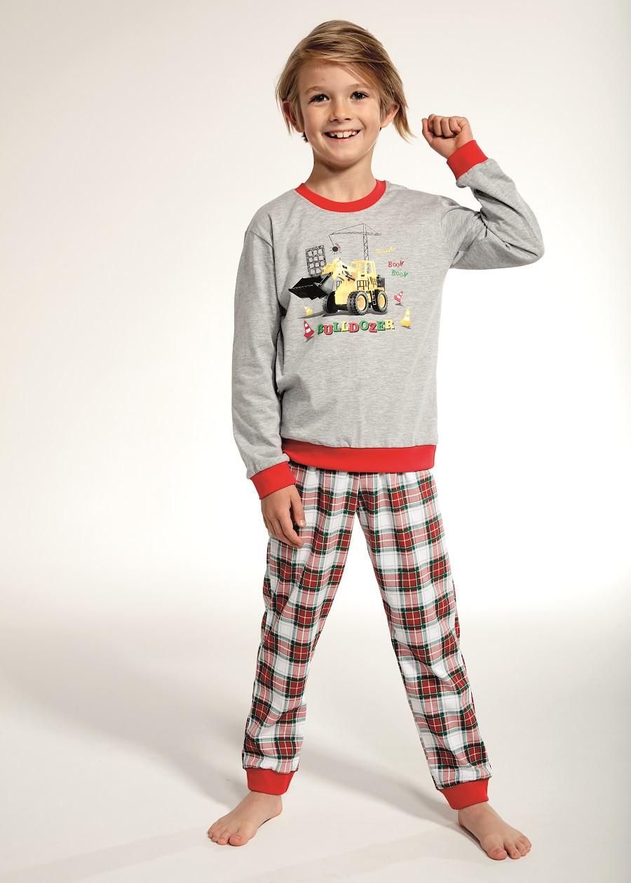 Пижама для мальчика 86-128. Польша.Cornette 593/88 BULLDOZER