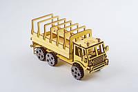 3D модель деревянная Военный грузовик, фото 1