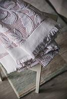 Махровое полотенце банное 70х140 см PINK FRINGE Турция