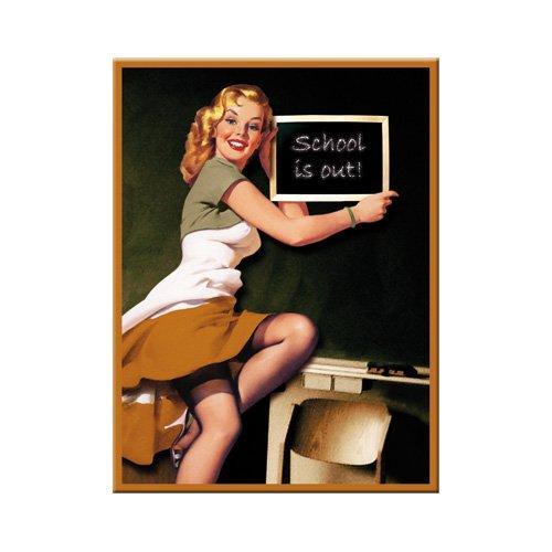Магнит Nostalgic-Art Pin Up-School (14172)