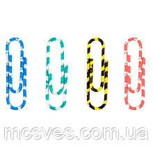 Фломастери кольорові Axent 4114-A смугасті, 28 мм, 100 шт, пластиковий контейнер