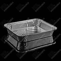 Контейнер с крышкой из пищевой алюминиевой фольги R48L (295*238*48)