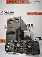 Игровой компьютер, Intel Core i5-2400 3.4GHz, RAM 8ГБ, SSD 120ГБ, HDD 500GB, GTX 1060 3GB, гарантия!