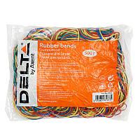 Резинки для денег Delta D4622, 500 г, цветные