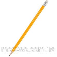Карандаш графитный Delta D2103 с ластиком, НВ, 144 штуки