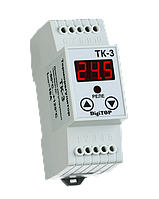 Терморегулятор ТК-3 (одноканальный, датчик DS18B20)  DIN