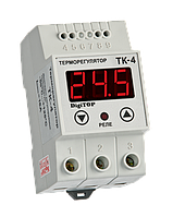 Терморегулятор ТК-4 (одноканальный, датчик DS18B20)  DIN