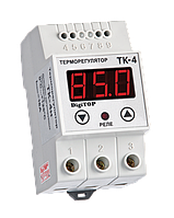 Терморегулятор ТК-4Н (одноканальный, датчик DS18B20)  DIN