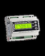 Терморегулятор ТК-7 (трехканальный с недельным программатором, датчик DS18B20)  DIN