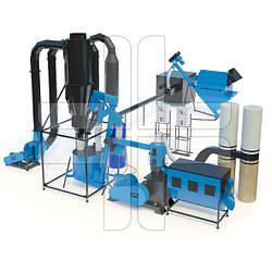 Линии гранулирования (оборудование для производства пеллет и комбикорма)