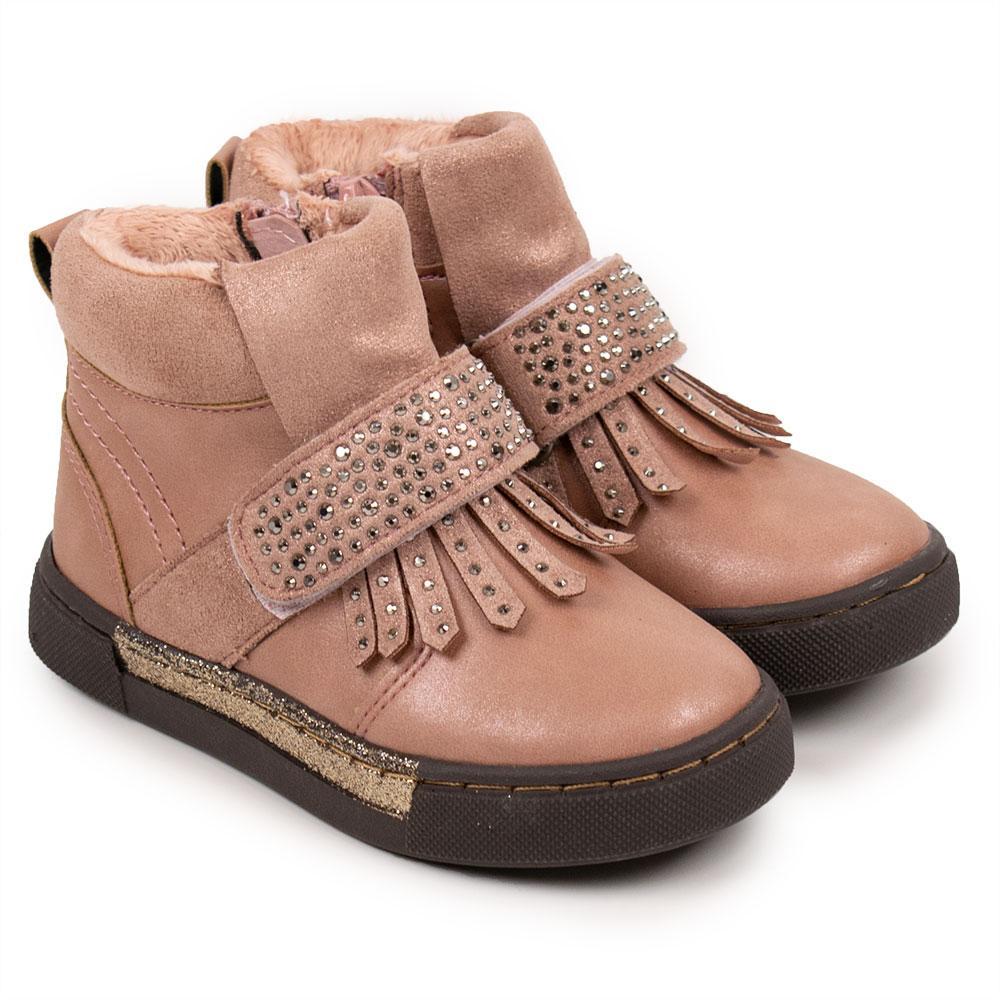 """Ботинки для девочек """"BI KI"""" 22  розовый 980561"""