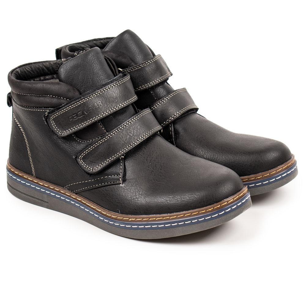 "Ботинки для мальчиков ""BI KI"" 34  черный 980556"