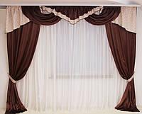 Ламбрекены и шторы в зал, фото 1