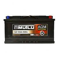 Аккумулятор Mutlu AGM 95Ah R+ 900A с доставкой по Украине