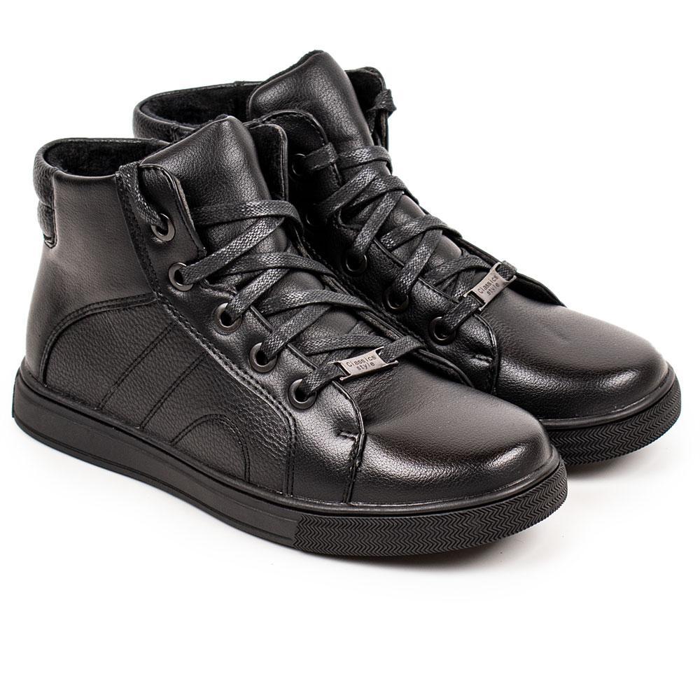 Ботинки для мальчиков Kimboo 33  черный 980571