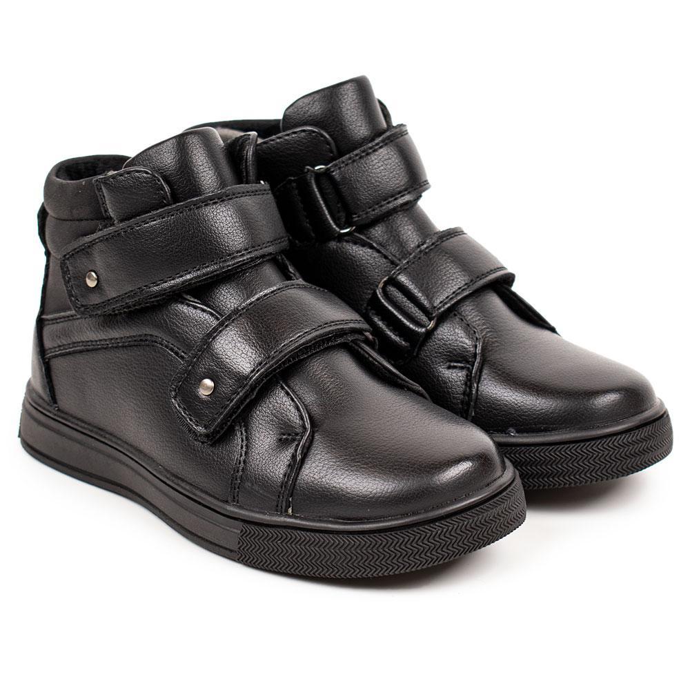 Ботинки для мальчиков Kimboo 29  черный 980573