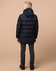 Braggart Kids | Детская зимняя куртка 60455 темно-синяя, фото 3