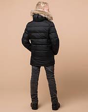 Braggart Kids   Куртка детская зимняя 68255 черная, фото 3
