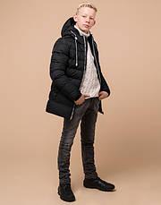 Braggart Kids | Куртка детская зимняя 65028 черная, фото 2