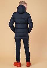 Braggart Kids   Куртка зимняя детская 65122 темно-синяя, фото 3