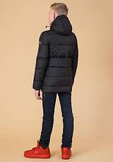 Braggart Kids | Детская куртка на зиму 65122 черная, фото 3