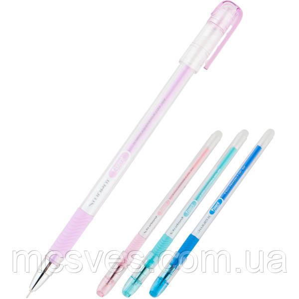 """Ручка гелевая """"пиши-стирай"""" Axent AG1071-02-A, синяя, 0.5 мм"""
