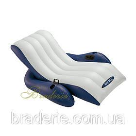 Пляжное надувное кресло-шезлонг Intex 58868 (180*135 см)