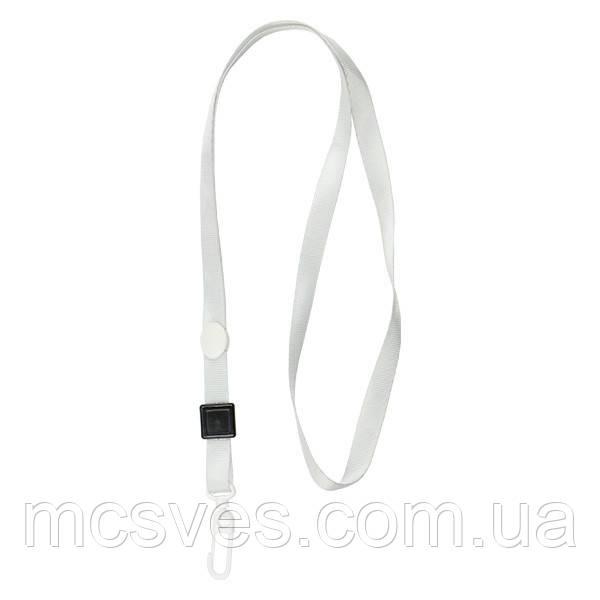 Шнурок для бейджа с карабином Axent 4531-03-A, серый