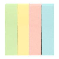 Закладки бумажные пастельных цветов Delta D3445-01, 12х51 мм, 400 штук