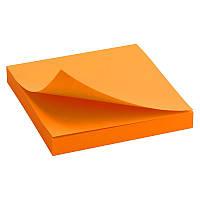 Блок бумаги с липким слоем Delta D3414-15 75x75 мм, 100 листов, оранжевый