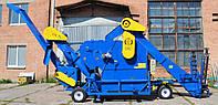 Очиститель вороха самопередвижной ОВС-70М4П с функциями зернометателя и зернопогрузчика