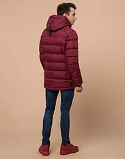 Подросток 13-17 лет | Куртка зимняя Braggart Teenager 75263 бордовая, фото 3