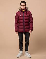 Подросток 13-17 лет | Куртка зимняя Braggart Teenager 73563 бордовая, фото 2