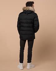 Подросток 13-17 лет   Зимняя куртка Braggart Teenager 73563 черная, фото 3