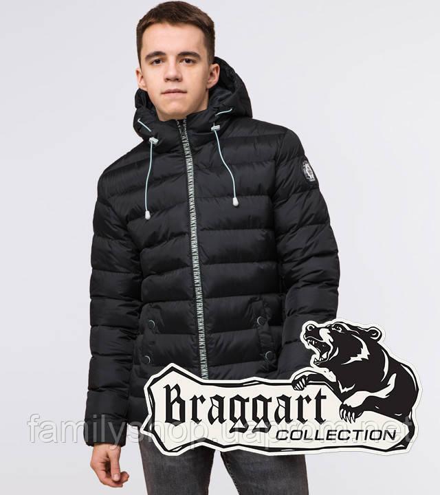 Подросток 13-17 лет | Зимняя куртка Braggart Teenager 76025 черная