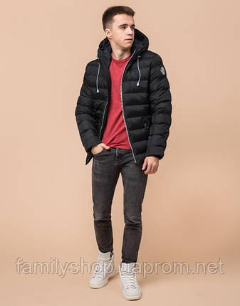 Подросток 13-17 лет | Зимняя куртка Braggart Teenager 76025 черная, фото 2