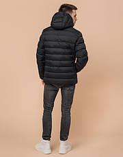 Подросток 13-17 лет | Зимняя куртка Braggart Teenager 76025 черная, фото 3