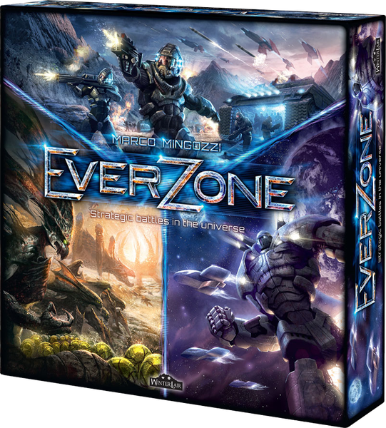 Настольная игра EverZone: Strategic Battles in the Universe