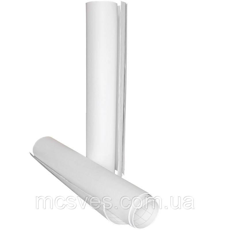 Блок бумаги для флипчарта Axent 8090-A 64х90 см, 20 листов, белая, полиэтилен